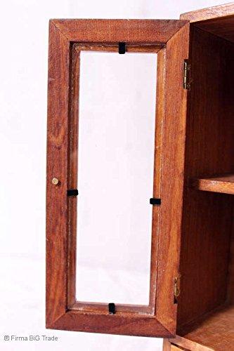 Especias-Armario-Armario-Parfum-Chupito-Armario-Almacenamiento-2-cajones-joyero-cristal-alas-puertas
