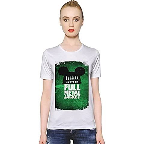 Full Metal Jacket Poster T-shirt donna Women T-Shirt Girl Ladies Stylish Fashion Fit Custom Apparel By Slick Stuff