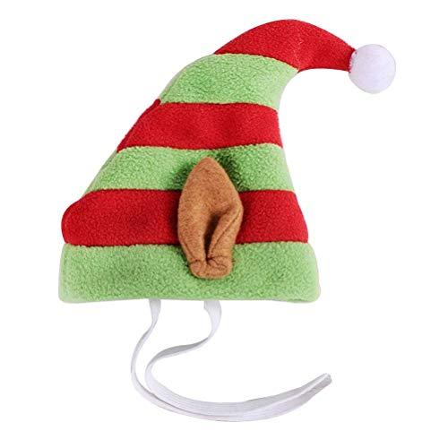 BESTOYARD Weihnachten Haustier Stirnband Urlaub Party Stirnband Hund Katze Haustier Weihnachtskostüm Outfits für Weihnachten Party Favor