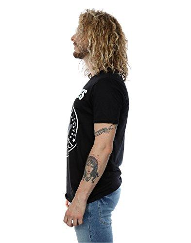 Ramones Herren Presidential Seal T-Shirt L,Schwarz