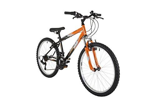 41lI9NuqxuL - Flite Boy Ravine Bike, 24 inch Wheel - Black/Orange