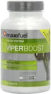 Maxifuel Viper Boost Mental and Physical Energy Capsules - Tub of 30