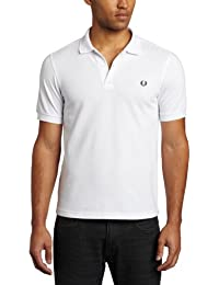 FRED PERRY M6000-100, Pôle Homme, Multicolore (White / Navy), S