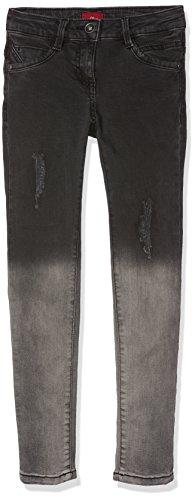 s.Oliver Mädchen Jeans 66.707.71.2952, Grau (Grey/Black Denim Stretch 97Z6), 164 (Herstellergröße: 164/REG)