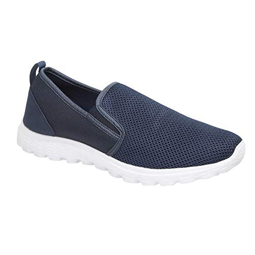 Fashion planet, sneaker uomo, blu (marina militare), 45.5 eu