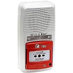 MB Security - Tableau alarme incendie autonome type 4 à pile flash (réf.11200)