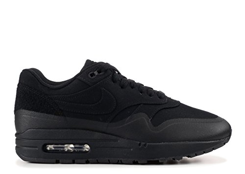 41lIDfJoFTL - Nike Mens Air Max 1 Patch Black Trainer
