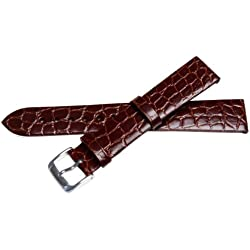 Bernex Sobek L Unisex Brown Leather Buckle Pin of 1.8cm GB42302