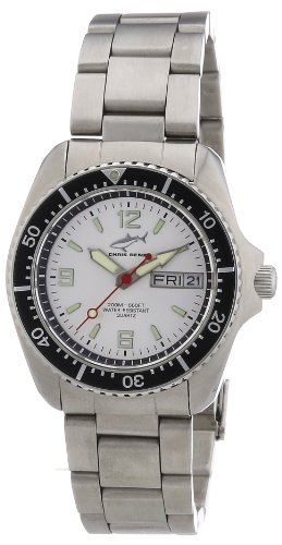 Chris Benz Unisex-Armbanduhr Analog Edelstahl CBM.SI.MB.SW