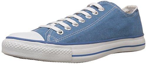 Converse Unisex Aqua Canvas Sneakers - 9 UK (0104192AQ)