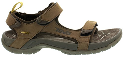 Teva Tanza Leather M's Herren Sport- & Outdoor Sandalen, Braun (brown 556), EU 43 -