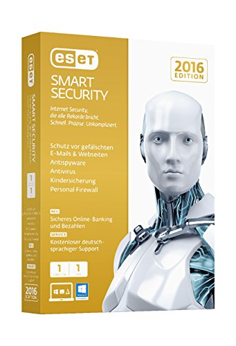 ESET Smart Security 2016 – 1 Computer (Minibox)