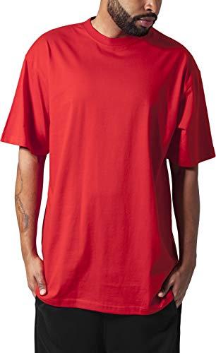 Urban Classics Herren T-Shirt Tall Tee, Farbe red, Größe 4XL