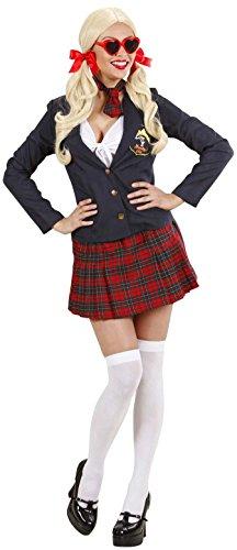WIDMANN Damen College-Kostüm, Größe S (36-38), für Schule, Mädchen (College Mädchen Für Kostüm-ideen)