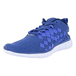 Nike Mens Free Og 14 Woven Blue Legend/Persian Violet-Midnight Navy Ankle-High Walking Shoe - 10M