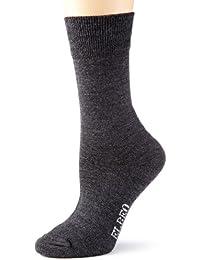 ELBEO Damen Socken 937307 / Classic Wool Socke mit Plüschsohle W