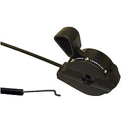 Câble d'accélérateur universel compatible avec de nombreuses tondeuses 182,9cm