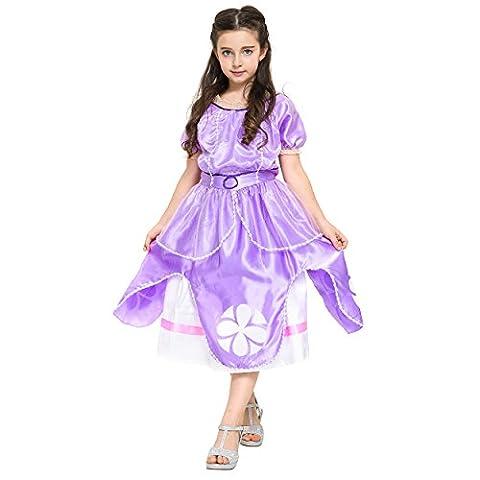 Roi Costume De Déguisement Pour Enfants - Katara - Robe de déguisement Princesse Sofia