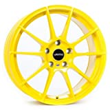 AUTEC Wizard Atomic Yellow 8x19 ET45 5.00x108.00 Hub Bore 70.00 mm - Alu felgen