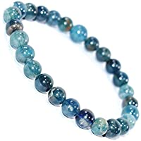 Bracelet Blue Apatite 8 MM Birthstone Handmade Healing Power Crystal Beads preisvergleich bei billige-tabletten.eu