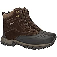 Mountain Warehouse Freeze Low Snow Boots - Waterproof, Breathable, Quick Dring, Durable Suede Upper, Microfiber Lining & Moulded Heel & Toe Bumper
