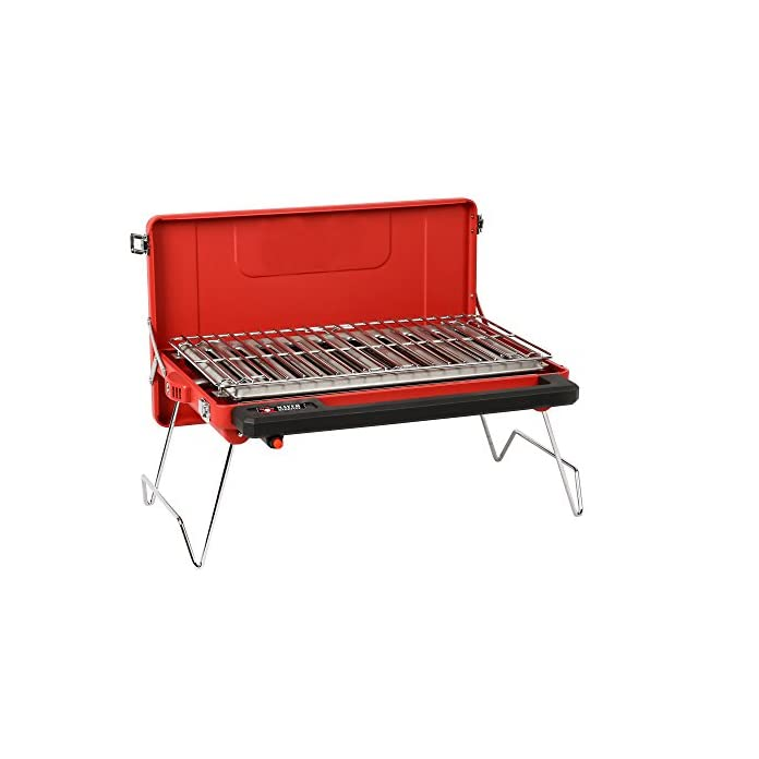 Mayer Barbecue Zunda Tragbarer Tischgrill Camping Gasgrill Mgg 310 Basic