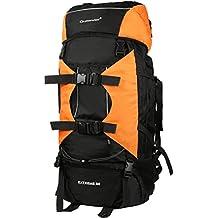 Vbiger 80L Professionelle Wandern Rucksack Bergsteigen Daypack Großraum Outdoor Schultertasche Mehrzweck Reisetaschen mit Regenschutz