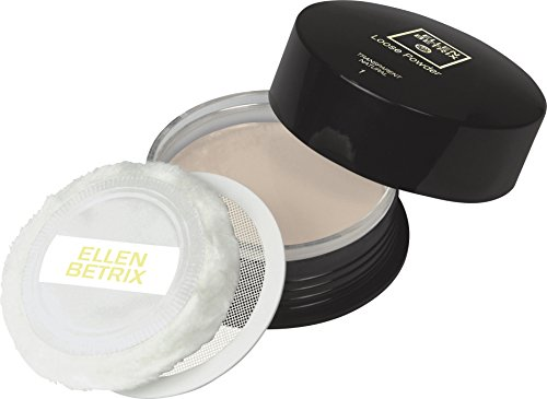 Max Factor Loose Powder Transparent Natural 1 – Transparentes Fixing Powder für ein mattes Finish – Mit praktischer Puderquaste und cleverem Dosierer – 1 x 15 g