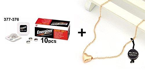 Energizer 377-376 SR626SW SR626W Silberoxyd Uhrenbatterie Quecksilberfrei Pack von 10