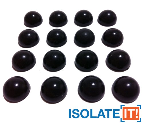 isolate-it-lot-de-16-demi-spheres-amortissantes-en-sorbothane-antichocs-adhesifs-inclus-durometre-50