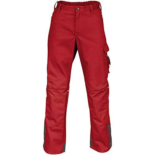 Kübler pantalon de travail 2046 Rouge/Anthracite
