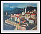 Joseph Kutter Calvi auf Korsika Poster Bild Kunstdruck