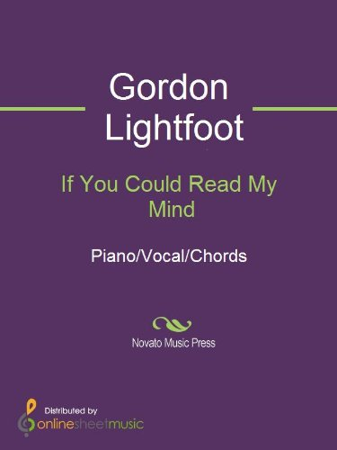 If You Could Read My Mind Ebook Gordon Lightfoot Amazon Kindle