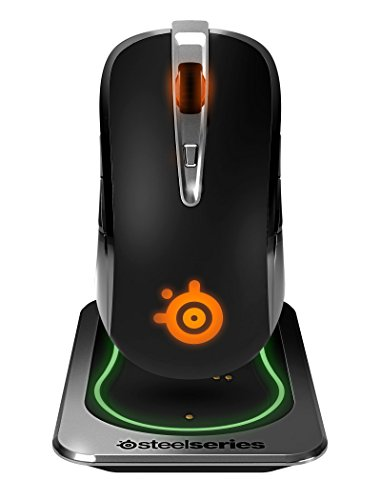 SteelSeries Sensei Wireless Laser-Gaming-Maus (drahtlos, 8 Tasten) schwarz