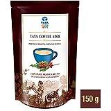 Tata Coffee 1868 100% Pure Arabica Blend Pouch, 150 g