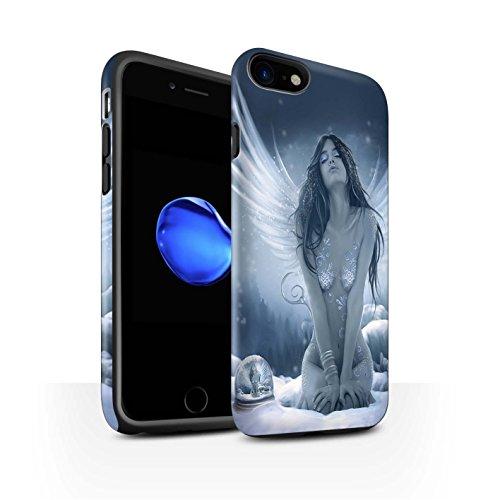 Offiziell Elena Dudina Hülle / Matte Harten Stoßfest Case für Apple iPhone 8 / Air-Kleid Muster / Fantasie Engel Kollektion La Nieve