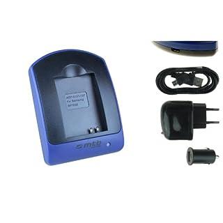 Ladegerät (USB, KFZ, Netz) für ED-BP1030, BP1130 // Samsung NX200 NX210 NX300 NX1100 NX2000.. - s. Liste!