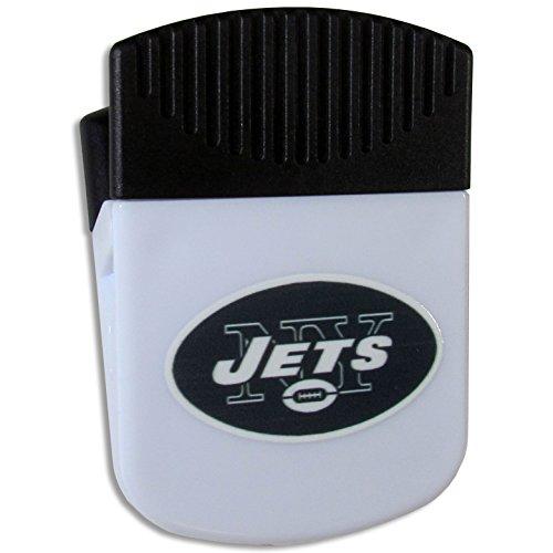 Siskiyou NFL Chip Clip Magnet, weiß, Unisex, weiß Nfl-magnet-jets