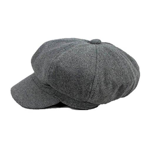 Ivy Golf Cap (Aiming Winter-Frau Barett Duckbill Ivy Cap Golf Driving Wohnung Cabbie Ballon- Hut Weihnachten)