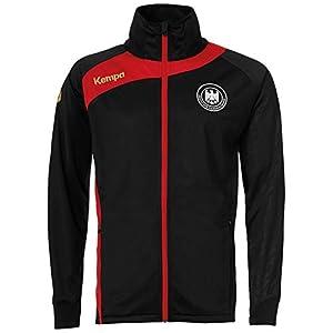 FanSport24 Kempa Handball DHB Deutscher Handballbund Multijacke Kinder schwarz rot