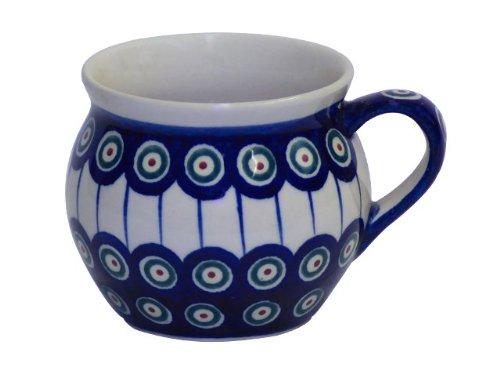 Bunzlauer keramik kugelbecher v = 0,35 l motif 8