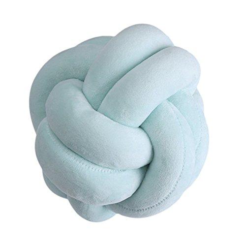 Minuya Knot Kopfkissen Kissen Nordische Einfachheit Kreativität Geknotetes Kissen Mode Schöne Cartoon Knoten Ball Kissen Dekor Bett Zimmer
