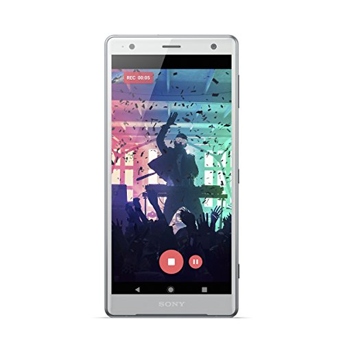"Sony Xperia XZ2 - Smartphone de 5.7"" (Octa-Core de 2.8 GHz, RAM de 4 GB, Memoria Interna de 64 GB, cámara de 19 MP, Android) Color Plata"