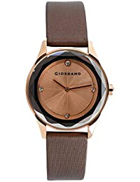 Giordano Analog Brown Dial Women's Watch-2610-04X