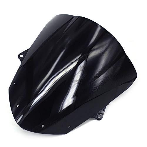 Un Xin Noir Moto Pare-Brise Pare-Brise pour Kawasaki Zx10r Zx-10r ZX 10R 08-10