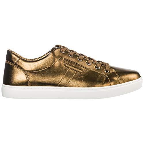 Dolce&Gabbana Herren Mordorè Turnschuhe ottone 41 EU Dolce Gabbana Sneakers