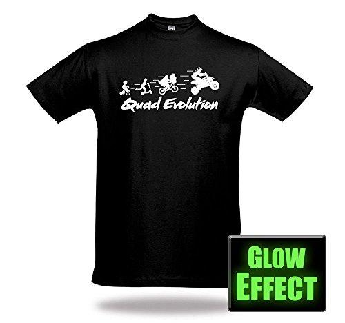 Shirtcharts Quad Evolution Glow Shirt Unisex Motocrosssport Kraka Offroad ATV Quadzubehör