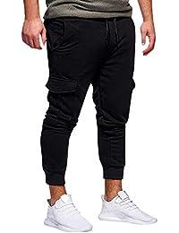 Amazon.it  Arancione - Pantaloni   Uomo  Abbigliamento ed76288f9de