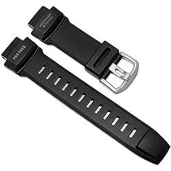 Casio Pro-Trek Ersatzband Uhrenarmband Resin Band schwarz passend zu PRW-3500Y 10491496