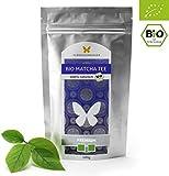 100g Bio-Matcha-Tee PREMIUM von FLÜGELSCHWINGER, 100% Matcha ohne Zusätze, nach traditioneller Art in Steinmühlen gemahlen, Matcha-Pulver, DE-ÖKO-012